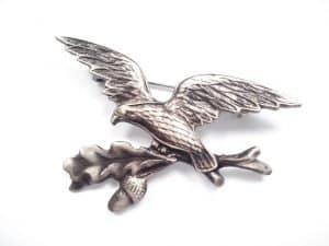 Odznak orol, žaluď