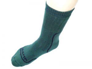 Tramp (záťažové) thermo ponožky zelené 43-44