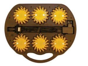 Výstražné svietidlá - 6ks v kufríku