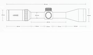 Vantage 3-9x50 AO (Mil Dot)