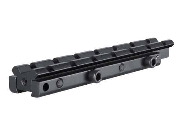 """ADAPTOR BASE 1 PIECE 3/8"""" RIFLE TO WEAVER ELEVATED"""