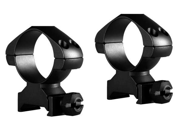 Precision Steel Ring Mounts Weaver (2pcs /30mm High, With Nut)