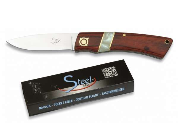 Martinez Albainox Pocket Knife STEEL 440 Booster II Red (19480)
