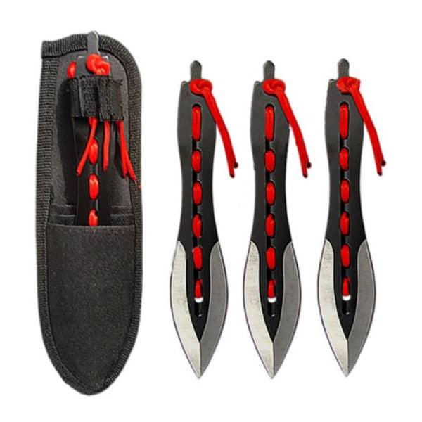 TIF Vrhacie nôže NINJA (3ks v sete)