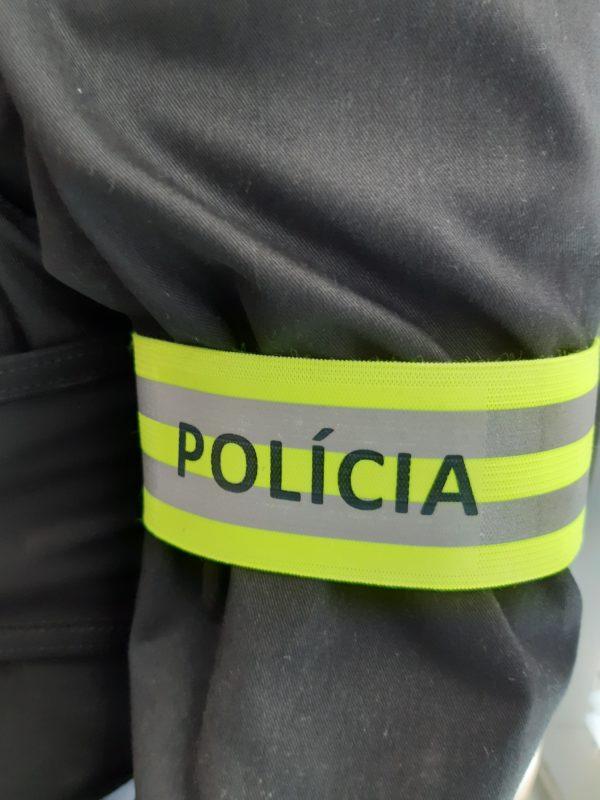 Páska reflexná POLÍCIA