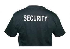 Tričko SBS, SECURITY