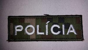 Nášivka POLÍCIA MASKÁČ
