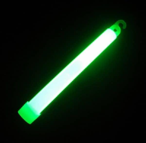 Chemické svetlo 15 cm zelené