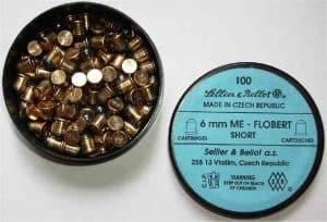 Flobertkový náboj 6 mm ME 100ks