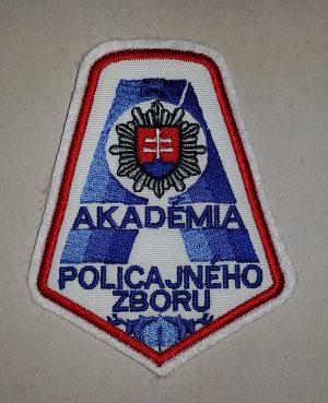 Nášivka Akadémia POLICAJNÉHO ZBORU bez suchého z