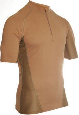 BLACKHAWK inteligentné tričko KR so stojačikom zips