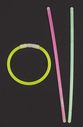 Chemické svetlo 20 cm MIX farieb - 100ks