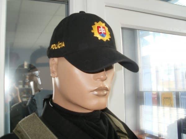 Šiltovka POLÍCIA SR so znakom