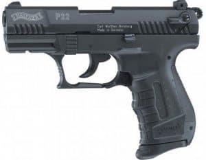 Plynová pištoľ Walther P22 Black 9mm