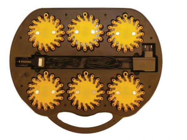 Výstražné dopr. svietidlo BL2000R2 yellow (kufor 6ks)