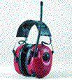 Slúchadlá mušlové MRX7A Seleckt FM rádio