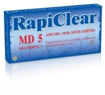 Drogový test RapiClear MD 5