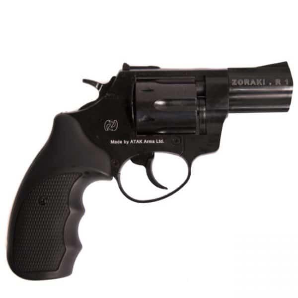 """Plynový revolver Atak Zoraki R1 2,5\"""" čierny, kal.9mm"""