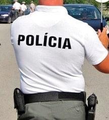 Polokošela KR POLÍCIA Biela