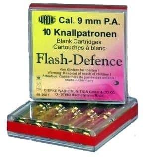 Plynové náboje Flash-Defence Wadie pištoľ 9mm