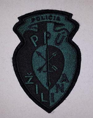 Nášivka PPU Žilina so suchym zipsom