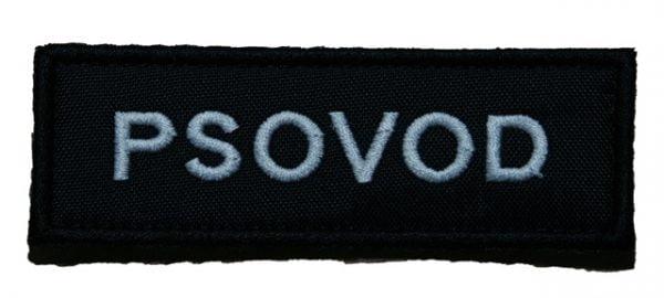 Nášivka PSOVOD 9x3cm